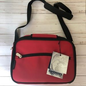 Travelon hanging cosmetic bag / carry case.